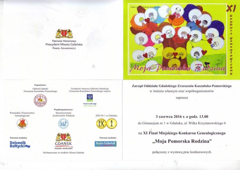 zaproszenie XI KG MPR