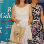 Jedna z laureatek konkursu z nagrodą ufundowaną przez Stowarzyszenie Archiwistów Polskich.