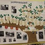 Drzewo genealogiczne przygotowane na konkurs.