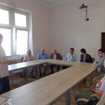 Wykład w sali konferencyjnej APG - Marcin Kurr. Fot. J. Strehlau