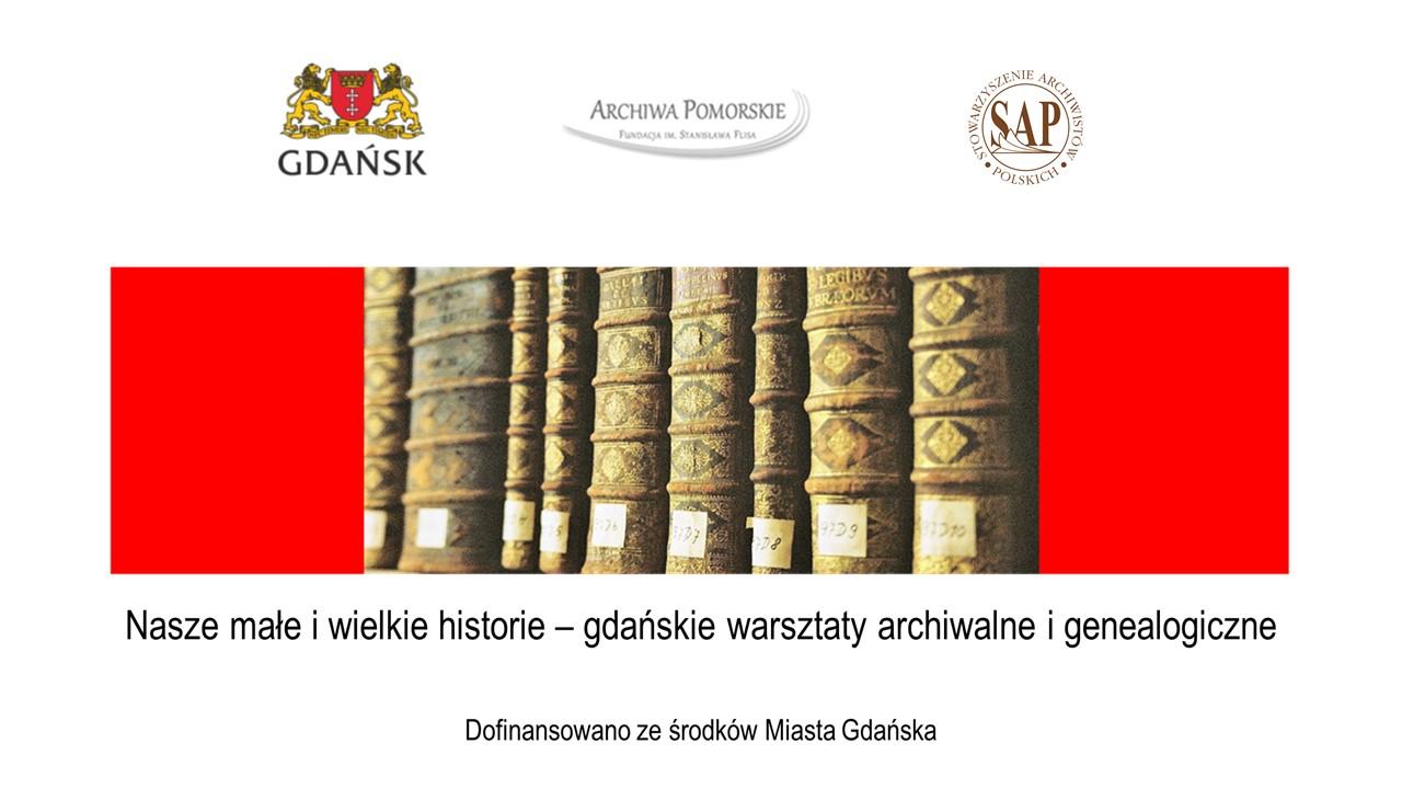 Warsztaty archiwalne i genealogiczne